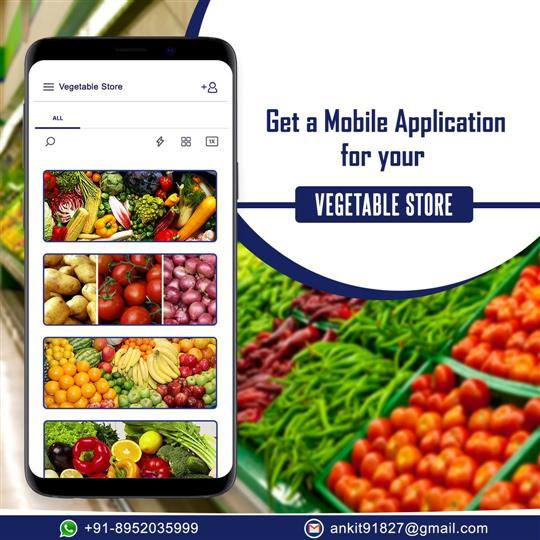FRESH FRUITS, VEGETABLES AND GROCERY E-COMMERCE MOBILE APP